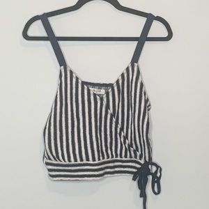 Madewell Finale Tank Top in Stripe Small